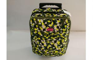 China Customized Camouflage Small Hand Luggage Suitcases with Double Roller Design on sale