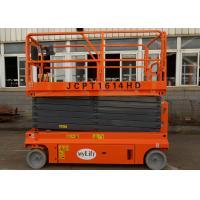 Stationary Mini Scissor Lift 13.7m Floor Standing Electric Scissor Lift Table