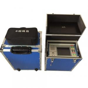 China GDJB-PC6 Protection relay tester secondary injection relay test set six phase China power test equipment on sale