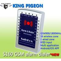 China GSM SMS house Alarm System and gsm alarm dialer- ultra version S160 on sale
