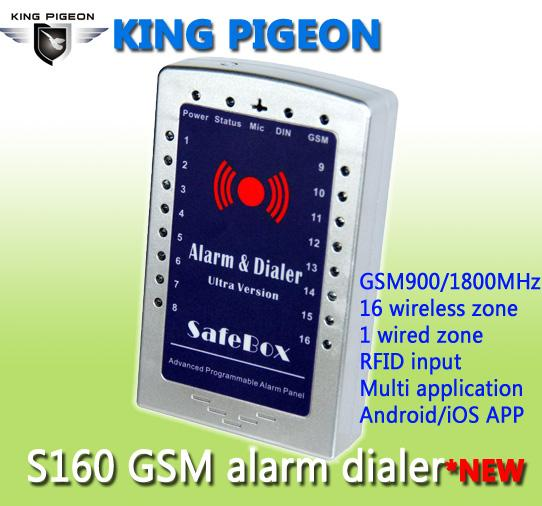 GSM SMS House Alarm System And Gsm Alarm Dialer  Ultra Version S160 Images