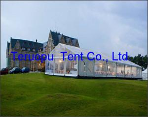 China Outdoor clear roof transparent marquee luxury party tent for wedding events on sale