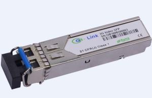 Quality SFP Optical Transceiver 1.25G 1550nm 80KM Single-mode for sale