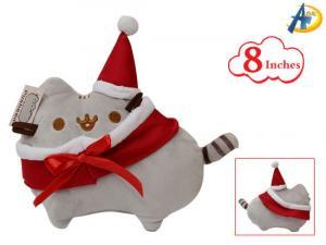 China Pusheen plush Keychain(plush doll),anime plush keychain,anime Plush Shoes,anime Plush Hat Cap on sale