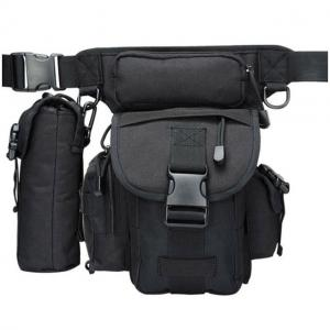 China Waterproof Oxford Drop Leg Military Fanny Pack Thigh Belt Hip Bum Multi Functions on sale