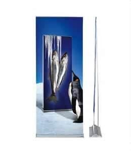 China Eye catching Retractable Affordable oxidative finish Graphic Roll up conventions Banner Stands   on sale