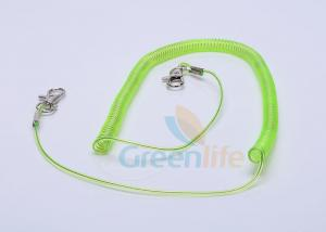 China Fishing Boats Kayak Paddle Tether 3 Meter For Rod Safety Light Green Color on sale