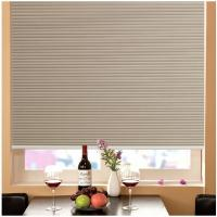 Windows Honeycomb Shades Blinds Manual Cord with Pleated Venetian