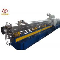 Horizontal Twin Screw Plastic Extruder Machine For Wood Plastic Composite Material