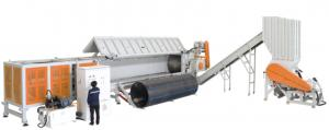 China DYSSG Plastic Recycle Machine , Plastic Recycling Extruder Machine Dia 1200mm Suitable Teared on sale