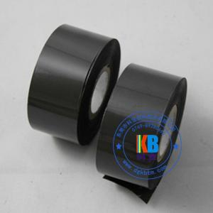 China Hot stamping foil machine use expiry date batch number printing fc3 30mm*100m black date coding ribbon on sale