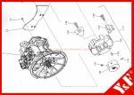 Kobelco Excavator SK460-8 SK480 Coupling LS30P01063F1 2418R660S001 LS30P01063S003 LS30P01063S004