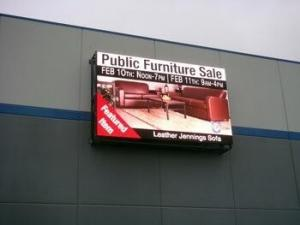 China High Definition P8 Advertising LED Display Screen , Light Weight LED Stage Display on sale