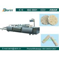 Automatic Puffed Rice Ball Forming Machine , Fruit Bar Machine Manufacturing Plant
