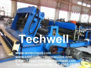 China Grain Silo Steel Corrugated Panel Forming Machine for Making Steel Silo Corrugated Wall Panel on sale