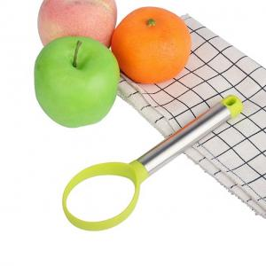 China Good grips kitchen gadget fruit carving tool avocado slicer fruit press on sale