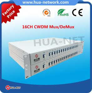 China Factory price for 16CH CWDM Mux/DeMux rackmount Type with LC/UPC at low insertion loss on sale