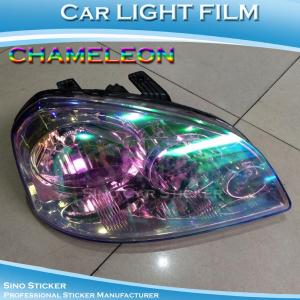 China Color Change Chameleon Car Headlight Tint Film on sale