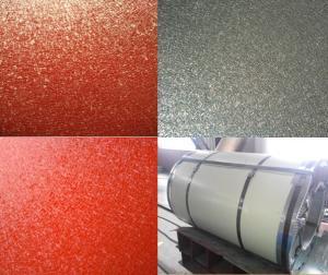 China Wrinkle PPGI / Diamond Embossed Aluminum PPGI / Chequered PPGI Sheet on sale