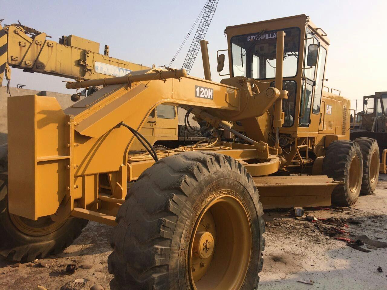 Used CAT Motor Grader 120H/CATERPILLAR 12G Grader /CAT 14G 140G ...