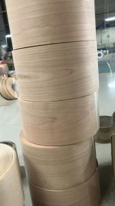 China Cherry Profile Wrap Veneer Rolls for Mouldings, Doors and Windows Industries on sale
