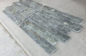 China Green Quartzite Culture Stone,Fireplace Stacked Stone,Real Z Stone Cladding,Quartz Stone Panel on sale