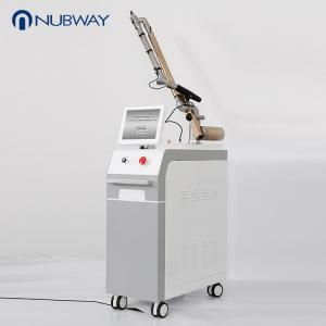 China 1064nm 532nm Q-Switch nd yag laser pigment tattoo removal skin rejuvenation device on sale