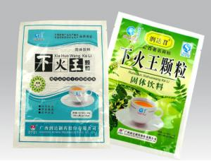 China PET / PE Flexible Plastic Medicine Bags Health Care Products Eco Friendly on sale