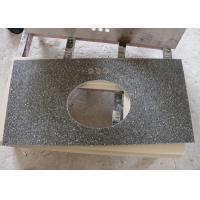 Black Galaxy Color Quartz Stone Countertops Sparkle Quartz Worktops NSF Standard
