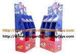 Blue Color  Cardbpard Cosmetics Products Cardboard Floor Displays Recyclable