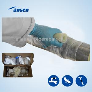 China Quickly Repair Wrap Strong Black Fiber Wrap Tape for Emergency Repair Industry Pipeline Leak on sale