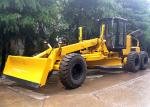 Self Propelled Articulated Motor Grader 215 Hp With Front Blade / Rear Scarifier