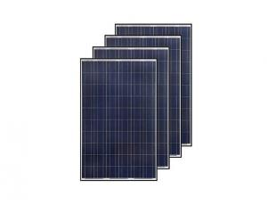 China 260w Polycrystalline PV Solar Panels Charging 24v Battery Hotel Heat Water System on sale