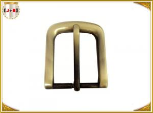 China Square Shaped Antique Metal Belt Buckle Surface Reflective Shiny Brass Brushed on sale