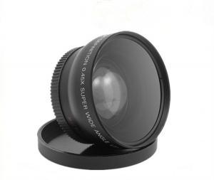 China 52MM 0.45X Wide Angle Lens + Macro + Lens Bag For Nikon on sale