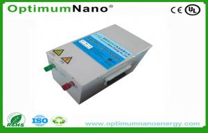 China Solar System Lifepo4 Rechargeable Battery Deep Cycle 24V 100Ah on sale