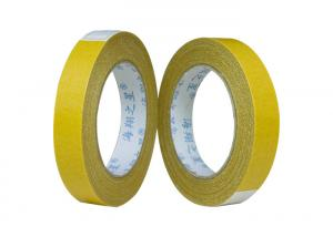 China Indoor / Outdoor Yellow 2 Inches 30Y Double Sided Carpet Tape For Rugs , Mats , Pads , Runners on sale