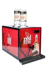 Quality 50 / 60Hz Shot Cooler Dispenser , Alcohol Chiller Dispenser With Decorative for sale