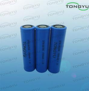 China Eco-friendly Lightweight LiFePO4 Rechargeable Battery 3.2V 1500mAh For Flashlight on sale