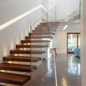 ... Quality Indoor Diy Floating Stairs With Single Steel Stringer /mono  Stringer Staircase For Sale ...