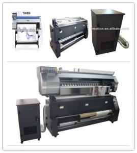 China High Speed 1440dpi Epson Head Roll To Roll Flag Printing Machine on sale