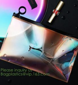 China Travel cosmetic makeup bag,Large Capacity Fashion Custom Logo Cosmetic Bag,Zipper Makeup Bag Travel Bag bagease bagplast on sale