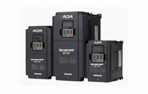 China Large LCD HMI AC Solar Variable Frequency Drives , 25kW / 30kW Three Phase Inverters on sale