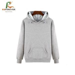 China White Hooded Sweatshirt Jacket , Printing Oversized Crop Top Hoodie on sale