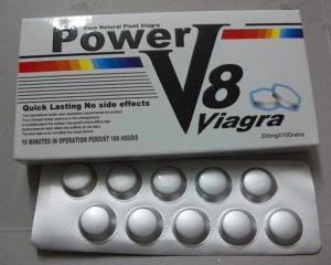 China Power V8 Natural Male Enhancement Pills / Herbal Medicine For Sex Quick Effect Long Lasting on sale