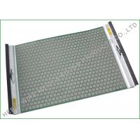 Single Side Tension Drying Rock Shaker Screen For Solids Control Longer Screen Life