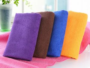 China 80% Polyester and 20% Ployamide Warp Knitted Towels Gym Towel on sale