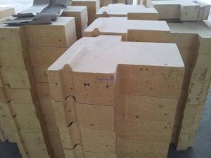 China High Temp Refractory Fire Brick , Silica Bricks For Glass Blast Furnace , Coke Oven on sale