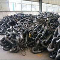 China galvanized U2 grade marine stud link anchor chain (G80 chain)