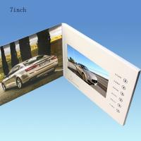 China White 7 Inch Battery Operated Promotional Video Card With 128MB-8GB Flash Memory Card on sale
